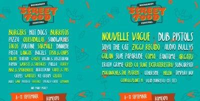 Doar o săptămâna pana la primul festival de street food din București