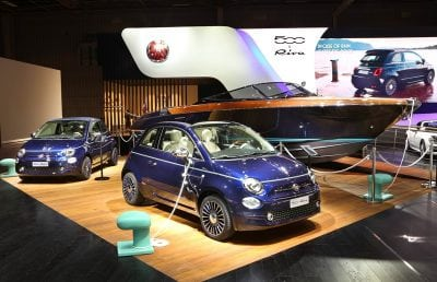 Fiat 500 Riva: un automobil de colecție, disponibil și în România