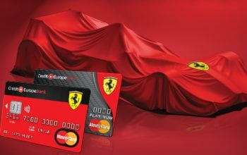Credit Europe Bank lansează Ferrari Card