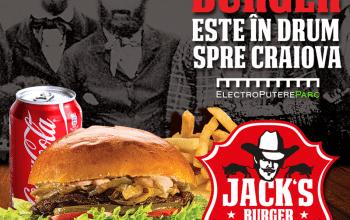 Primul restaurant Jack's Burger din România, la Craiova