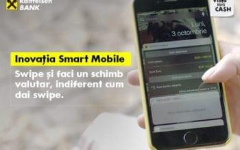 Funcționalități noi pentru Raiffeisen Online și Smart Mobile