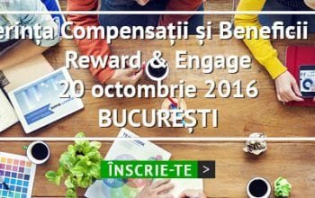 Reward & Engage, evenimentul anual de compensații și beneficii
