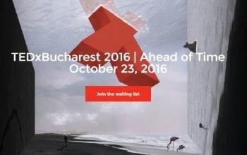 Bilete epuizate la a opta ediție TEDxBucharest