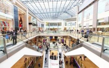 Suprafața centrelor comerciale, de 5 ori întinderea Bucureștiului