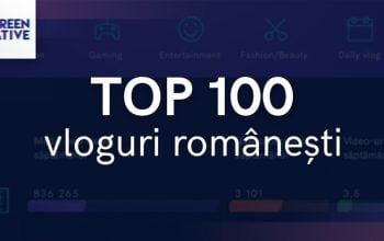Cine sunt cei mai importanți vloggeri români?