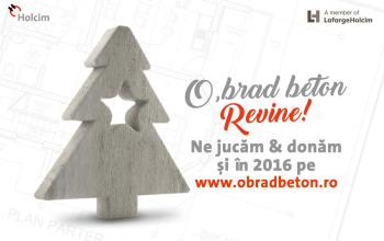Holcim România te provoacă să donezi ciment pentru casele nevoiașilor