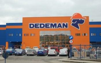 Dedeman a investit 12 mil euro în magazinul cu numărul 45