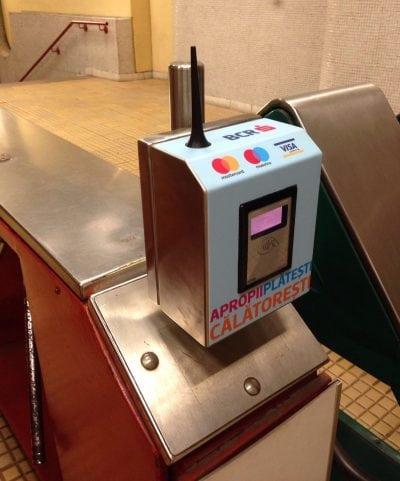 Plăți cu carduri contactless, la metrou