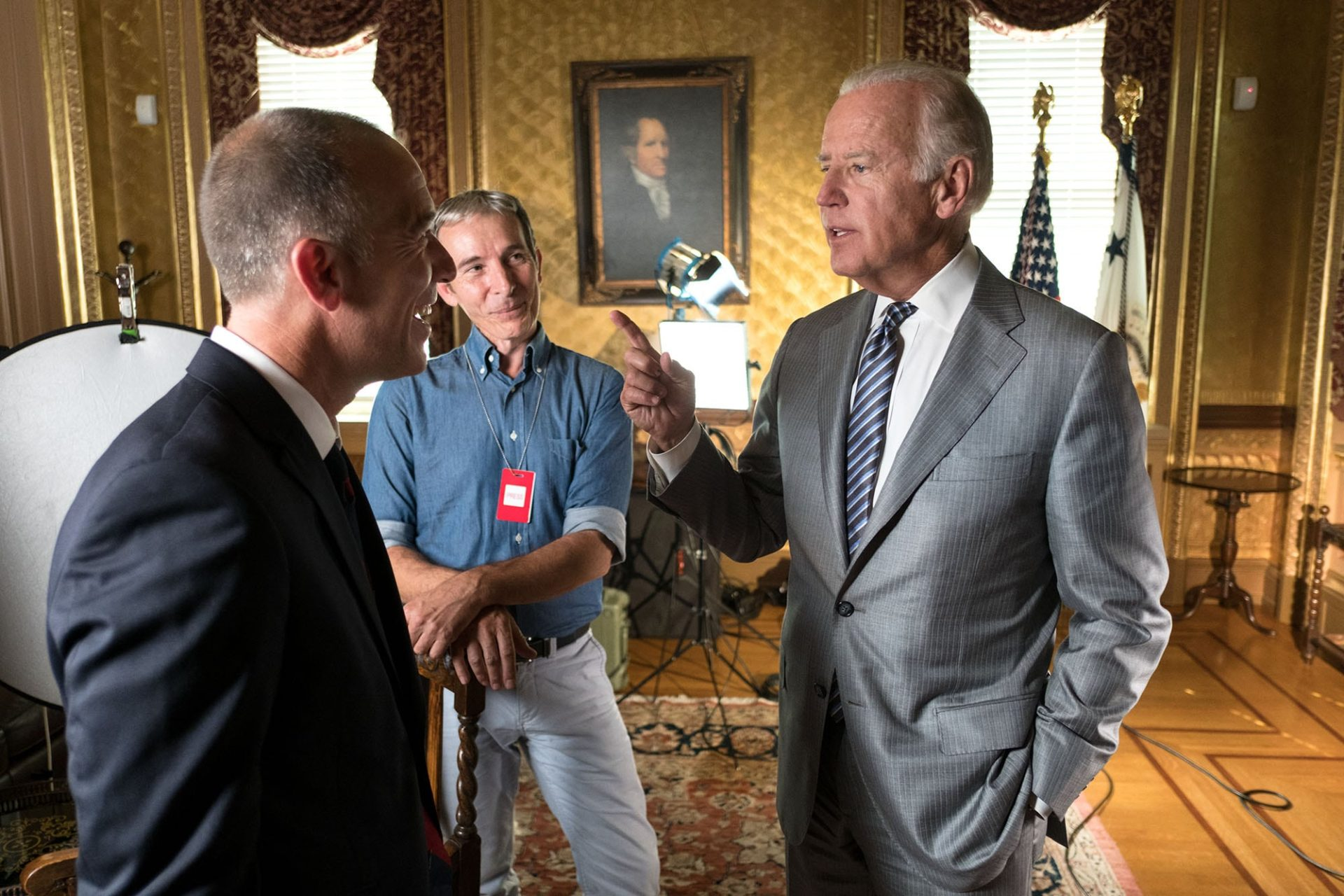 President Obama: In His Own Words Joe Biden - Vice President White House /HISTORY®