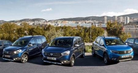 Record de vânzări pentru Dacia în 2016