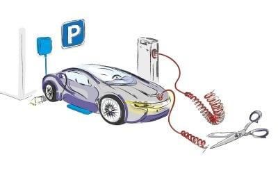 Mașinile electrice, încărcate printr-un câmp magnetic
