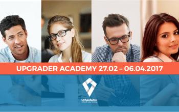 S-au deschis înscrierile pentru academia de antreprenoriat Upgrader #3