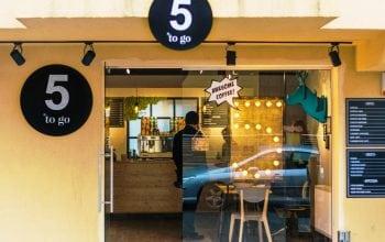 Lanțul de cafenele 5togo a ajuns la 40 de unități