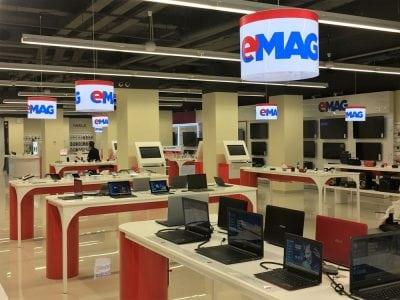 eMag a mai deschis un showroom