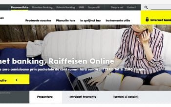 Raiffeisen Bank își schimbă platforma online