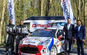 UniCredit Leasing debutează în motorsportul românesc