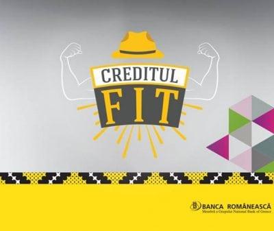 Banca Românească lansează Creditul FIT