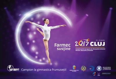 Farmec, partener al Campionatelor Europene de Gimnastică Artistică Petrom