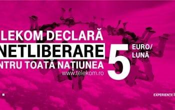 #NETLIBERARE de la Telekom, sub semnătura Leo Burnett