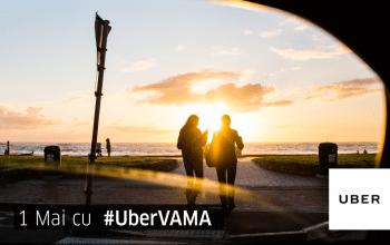 Cu Uber în Vamă de 1 Mai