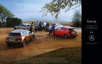 """Mercedes-Benz lansează """"Grow Up"""", cea mai neconvențională campanie"""