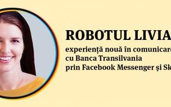 Robotul Livia oferă informații non-stop clienților BT