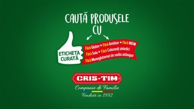 Cris-Tim, cu Etichetă Curată