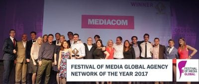 MediaCom, rețeaua anului la Festival of Media Global Awards