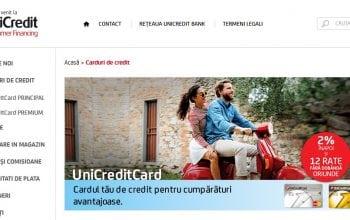 UniCredit Consumer Financing depășește 100.000 de carduri de credit