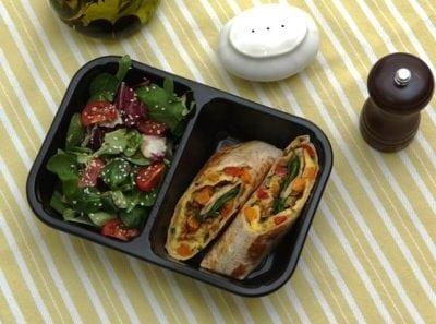 Mâncare sănătoasă, la pachet