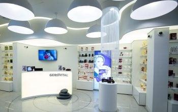 Farmec deschide trei magazine Gerovital în nordul țării