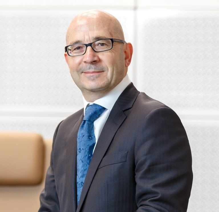 Philippe Garcet, CEO Societe Generale European Business Services