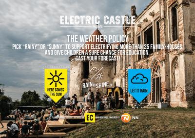 """EC Festival și NN Asigurări anunță lansarea """"The Weather Policy"""""""