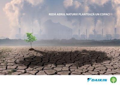 """Daikin România lansează campania de responsabilitate socială """"Plantăm Aer"""""""
