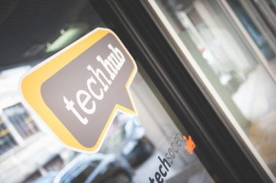 Antreprenorii pot lucra gratuit de la TechHub Bucharest