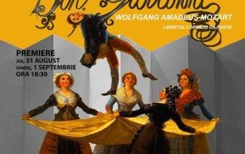 Regizorul Andrei Șerban îl aduce pe Don Giovanni la Opera Națională din București