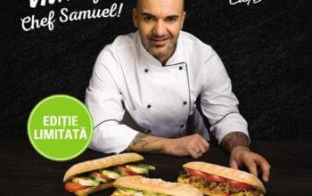 OMV și chef Samuel le Torriellec schimbă meniul to-go