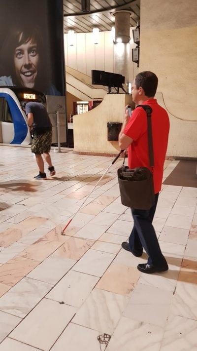 Metroul, accesibilizat pentru nevăzători