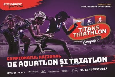 Doar 6 zile de înscriere la TITANS TRIATHLON