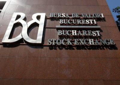 Valoarea companiilor românești listate la BVB a depășit 20 mld euro