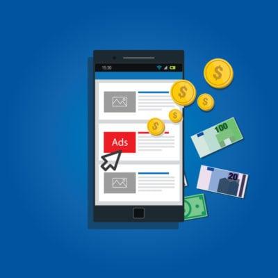 Creștere de 4% a publicității de tip display pe mobile