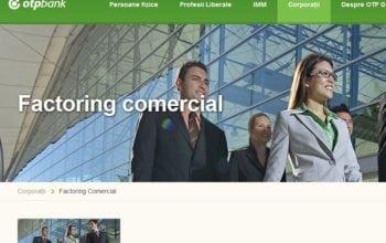 OTP Bank își extinde gama de Factoring