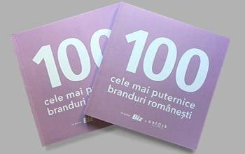 Top 100 cele mai puternice branduri românești 2017