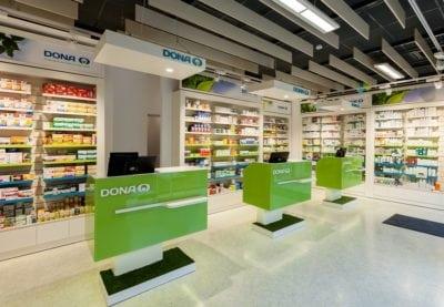 Rețeaua Dona a depășit pragul de 300 de farmacii