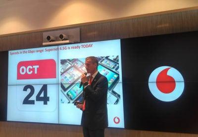 Ce aduce Supernet 4.5G de la Vodafone?
