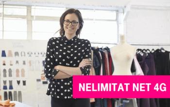 Provocarea Telekom: internet nelimitat 4G de la 5 euro / lună