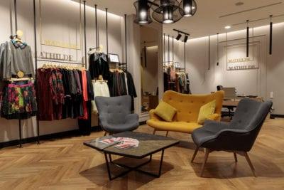 Concept store Mathilde de 70.000 de euro în București