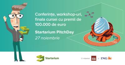 70 de startup-uri se pregătesc pentru finala Startarium PitchDay