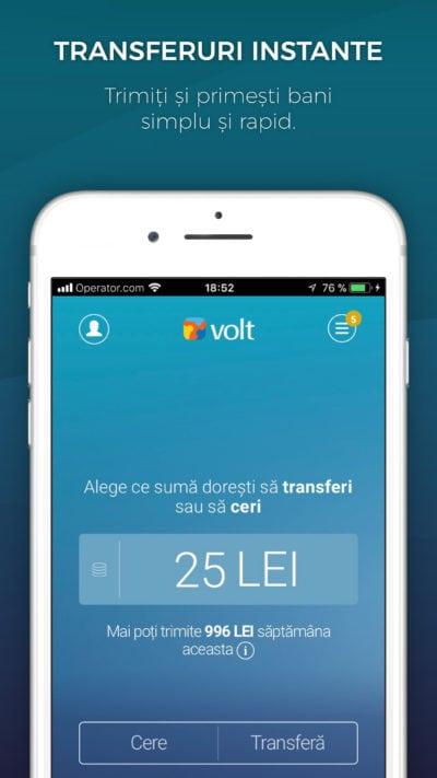 Prima aplicație de transfer de bani Peer-2-Peer din România