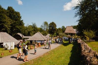 Muzeul ASTRA din Sibiu: 600.000 de turisti în 2017